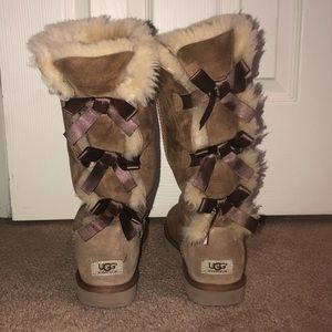 UGG Bailey Bow TALL II suede water-resistant boots